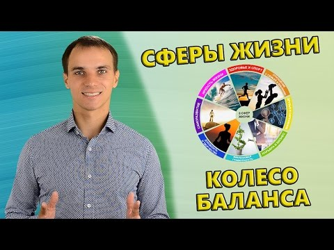 Основные сферы жизни | Колесо баланса | Как оценить свою жизнь? | 8 сфер жизни