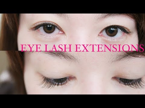 CL2425 :: Random Musings: I GOT LASH EXTENSIONS~~