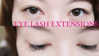 I Got Eyelash Extensions!