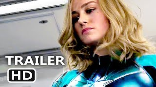 CAPTAIN MARVEL Trailer (2019) Superhero Movie