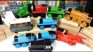 Thomas And Friends Wooden Engines Toby, Percy, James, Edward And More
