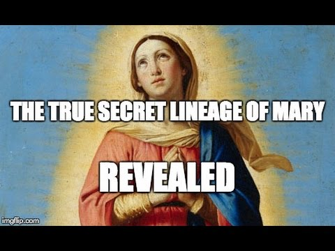The real lineage of Jesus from Mary that you never knew. Jesus Secret Family, Mary Jesus Mother