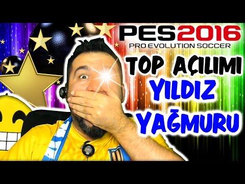 PES 2016 SON TOP AÇILIMI | YILDIZ YAĞMURU! HERKES BURADA!