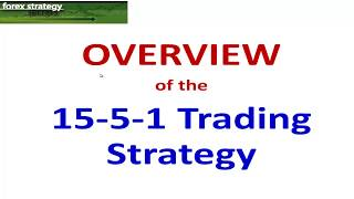 Forex Strategies and Secrets ...15-5-1 min trading Strategy