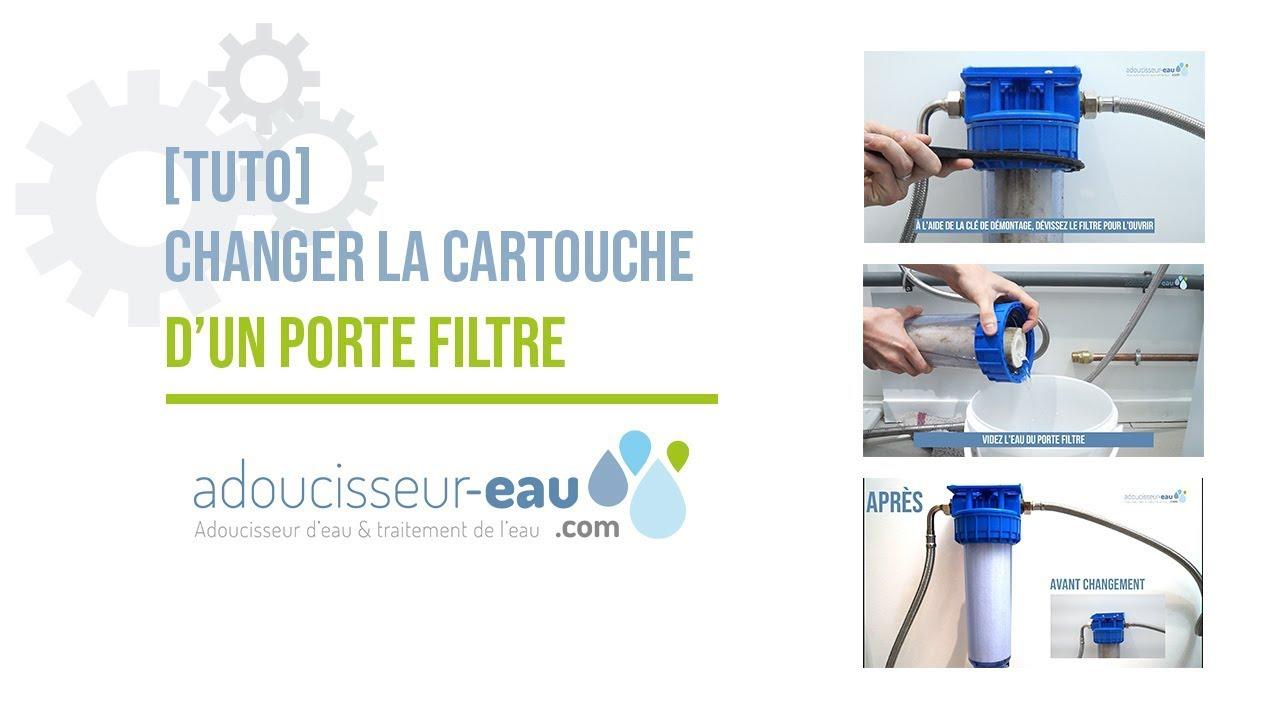 """Remplacement JEU Duo Filtre à eau 5µ sédiment fer Filtre 10/"""""""