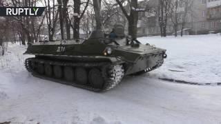 В Донецке эвакуируют мирных жителей
