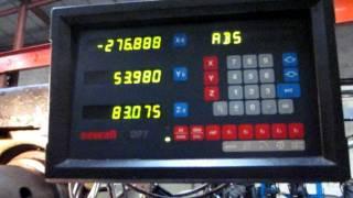 Gambin Milling Machine Heavy Duty 9kW Motor