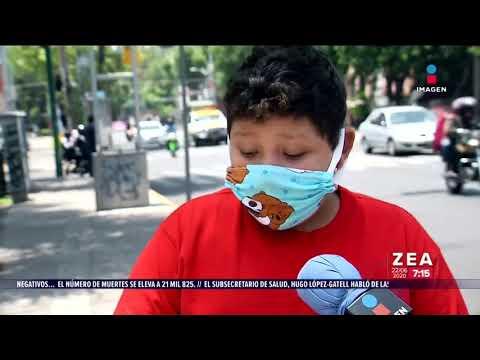 ¡Niño de 11 años intercambia sus juguetes por despensa! | Noticias con Francisco Zea