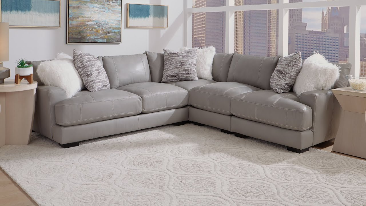 Franklin Antonia 3 Pc Sectional Youtube