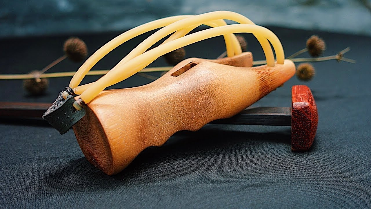 Amazing Bamboo Catapult Slingshot | Wooden DIY