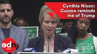 Cynthia Nixon: Cuomo is a bully who reminds me of Trump