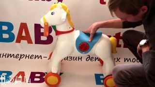 видео игрушка качалка для детей
