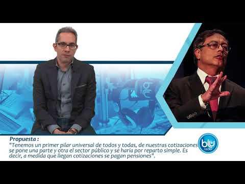 ¿Viable o inviable? Esto propone Gustavo Petro en materia de Economía  | Blu Radio