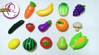 讓小朋友認識水果和蔬菜的外形與中英文名稱|第二集|玩具反斗城玩具
