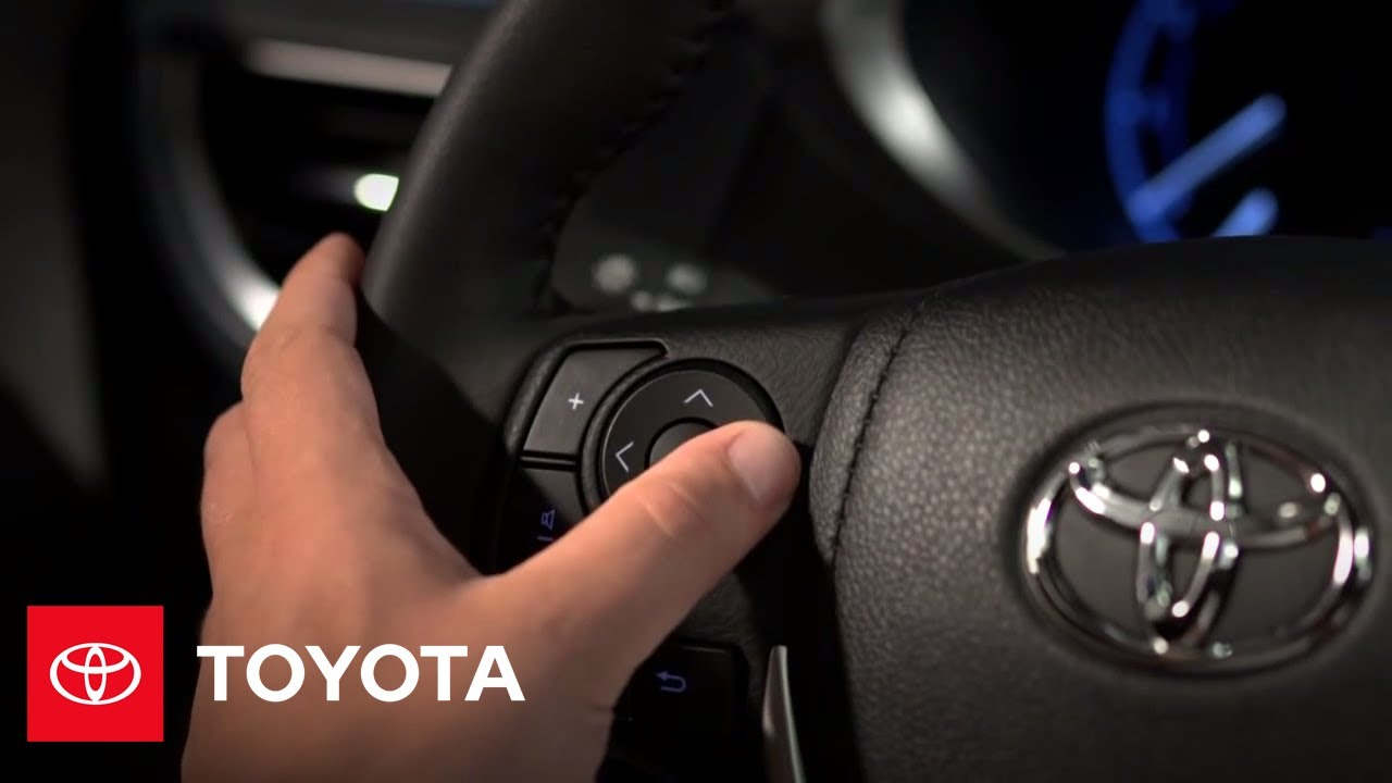 2014 corolla how to steering wheel controls audio toyota [ 1280 x 720 Pixel ]