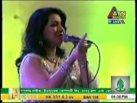 Akhi Alomgir live song Bish wth n0ngor Atn bangla