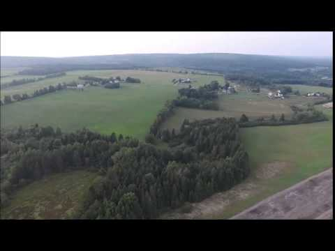 Elgin New Brunswick Canada - Drone Flight (Phantom 3 Advanced Drone)