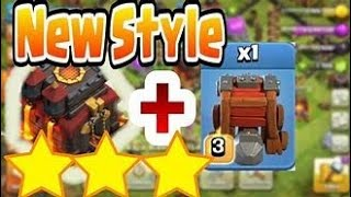 How to wall wrecker in coc must watch with 9  lack loot full....