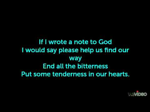 note to god - charice with lyrics