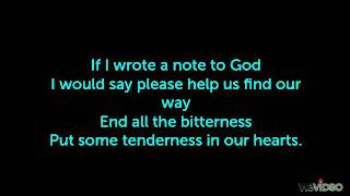 note to god - charice with lyrics Mp3