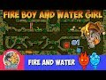 Fire Boy and Water Girl ( Part 1 )-( Level 1-2-3-4-5-6-7-8-9-10 ) The Light Temple Full Walkthrough