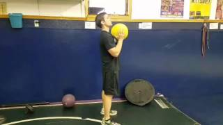 Thrusters with Med Ball