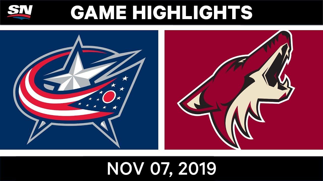 NHL Highlights | Blue Jackets vs. Coyotes – Nov. 07, 2019
