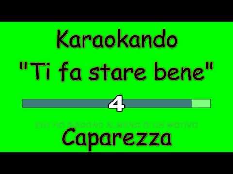 Karaoke Italiano - Ti fa stare bene - Caparezza ( Testo )