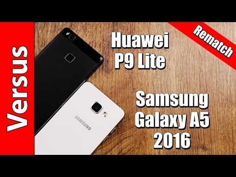 Huawei P9 Lite or Samsung Galaxy A5 2016 | in-depth comparison