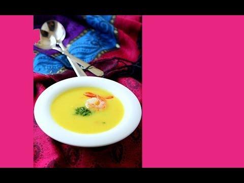 Супы с креветками