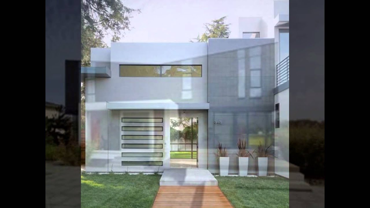 Minimalist House Design Inspiration   Small And Box Shape