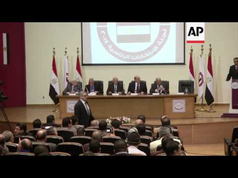 Electoral commission announces date for presidential elections