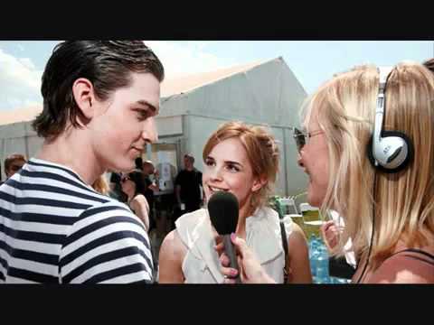 Emma Watson and George Craig interview at Glastonbury