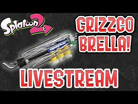 Splatoon 2 — Grizzco Brella Salmon Run Livestream