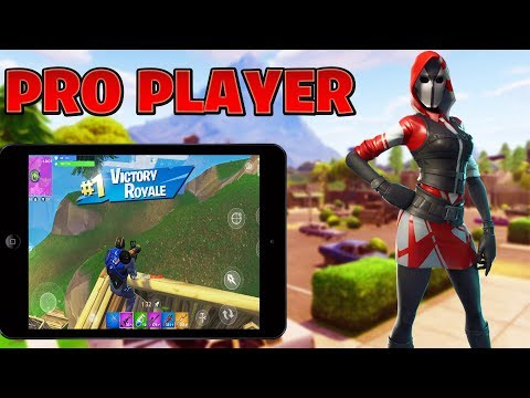 PRO FORTNITE MOBILE PLAYER // GRINDING SOLOS// 260+ WINS ...