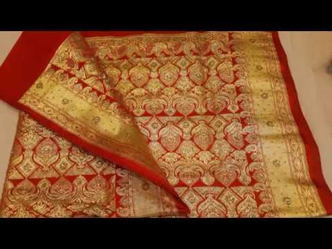Bridal Banarasi sarees