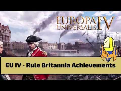 EUIV Rule Britannia Achievement Selection |