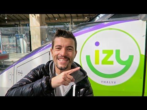Le train low cost IZY : aller à Bruxelles pour 10€ (TESTÉ)