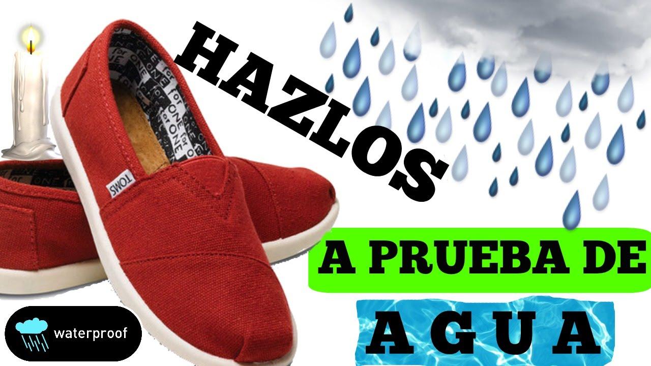 d2eafd68b1a Como Hacer Tus Zapatos a Prueba de Agua