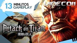 Attack On Titan: Primeros 13 Minutos de Gameplay (Español) – PS4, Xbox One, PS3, PC