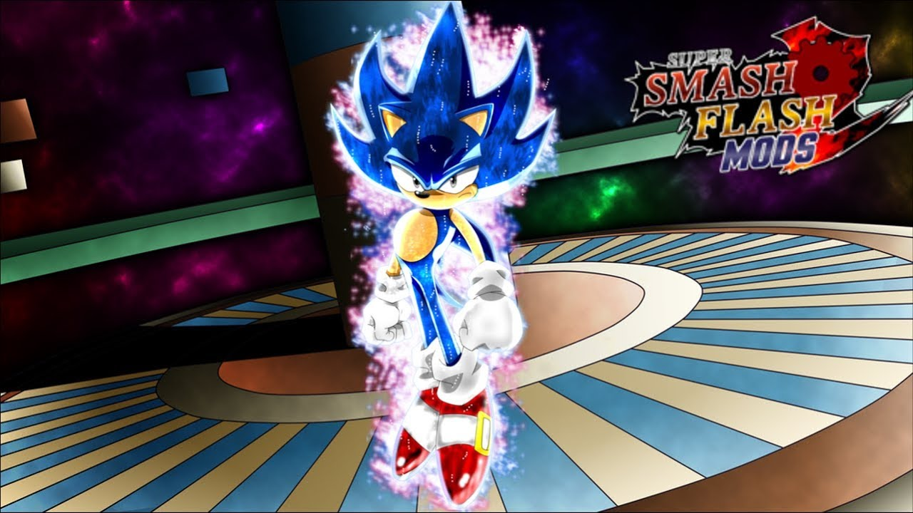 Ultra Instinct Sonic!! Super Smash Flash 2 Mods