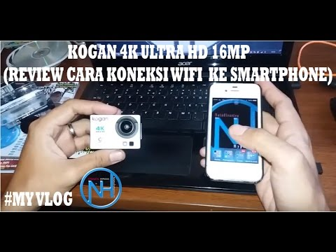 Cara Koneksi Wifi Action Camera KOGAN 4K ULTRA HD 16mp ke ...