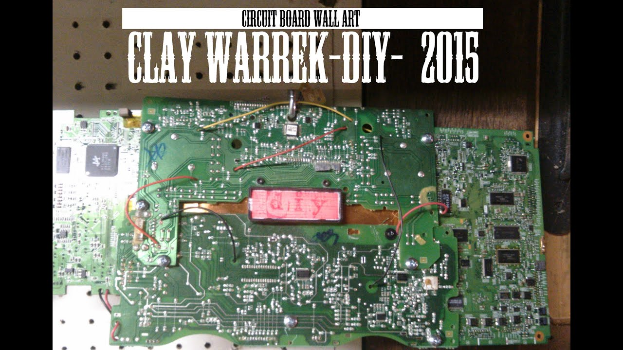 Circuit Board Art Poster Print Wall Entitled Printed Picture Frame Geekery Pinterest Timelapse Build 2015 Youtube