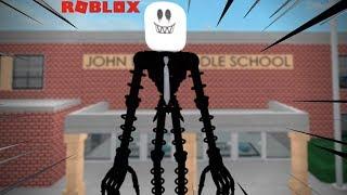 ROBLOX: ¡Hay un MONSTRUO DENTRO DE LA ESCUELA! (Escuela Secundaria)