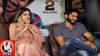 Exclusive Interview With Naga Chaitanya And Nidhhi Agerwal | Savyasachi Movie | V6 News