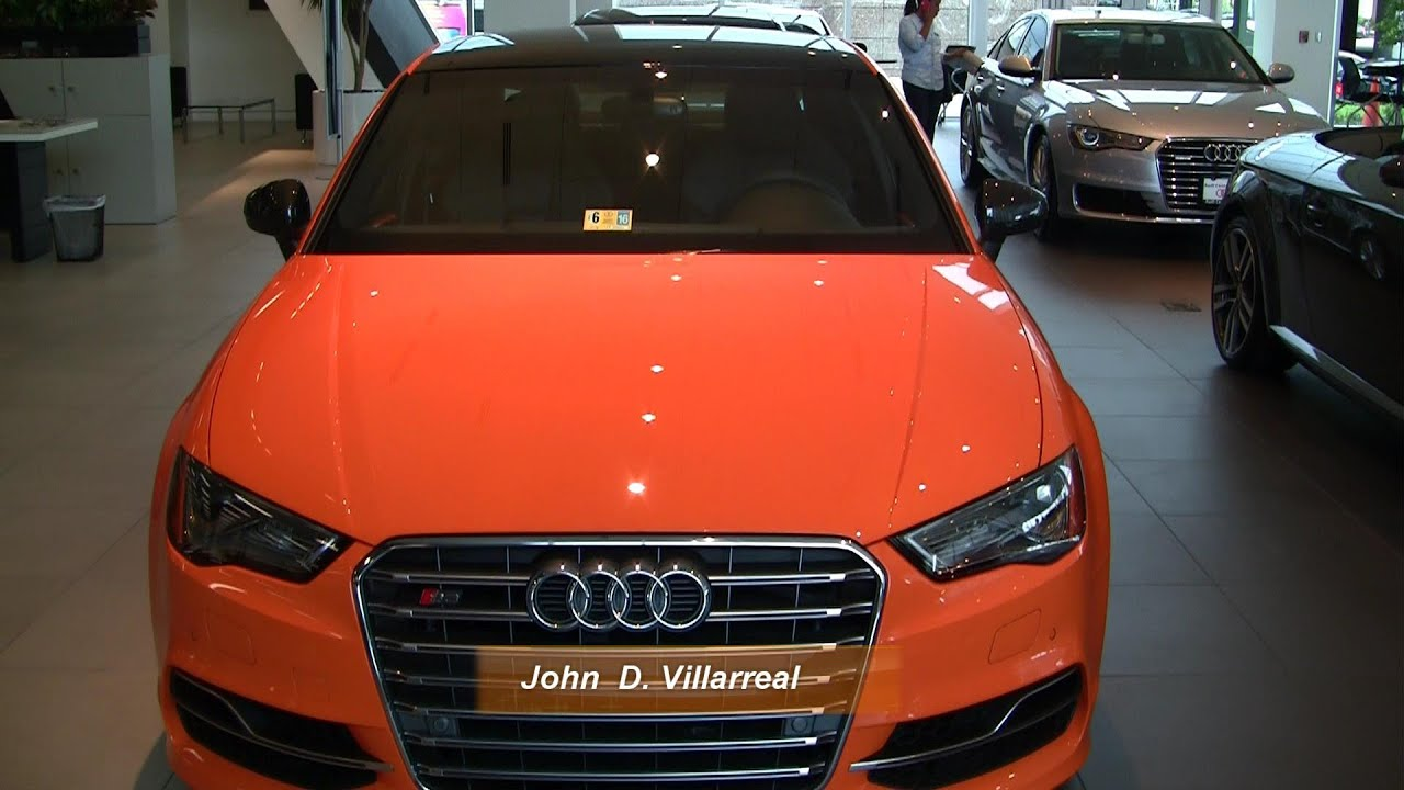 Super Rare Audi S3 Exclusive Edition - Glut Orange in HD - by John D ...