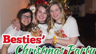 VLOGMAS Day 23: Besties' Christmas Party!!