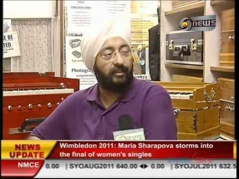 DMS - Delhi Musical Stores - DD News interview in June.2011 on EHSAAS..