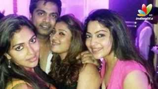Simbu and Nayanthara partying hard together | Trisha Birthday Party | Hot Tamil Cinema News