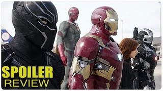 SPOILER REVIEW: Captain America Civil War | Kritik German Deutsch | Marvel Filme 2016